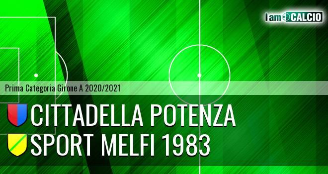 Cittadella Potenza - Sport Melfi 1983