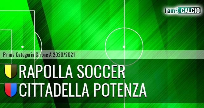 Rapolla Soccer - Cittadella Potenza