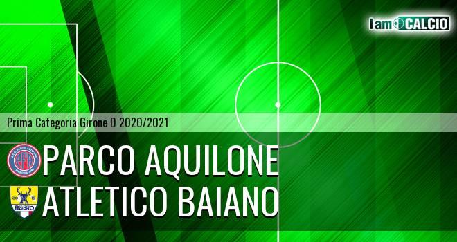 Parco Aquilone - Atletico Baiano