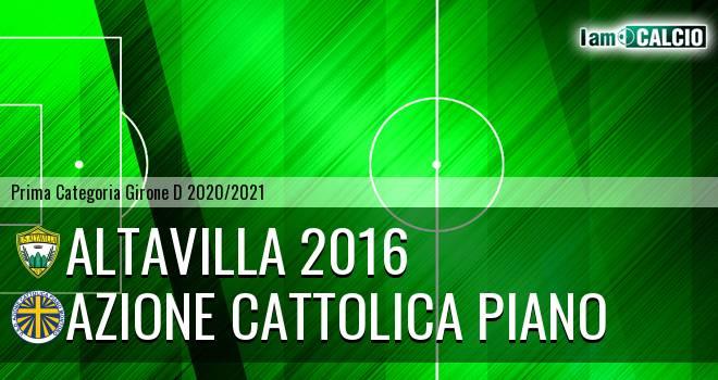 Altavilla 2016 - Azione Cattolica Piano