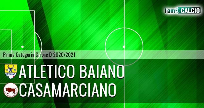 Atletico Baiano - Casamarciano