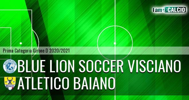 Blue Lion Soccer Visciano - Atletico Baiano