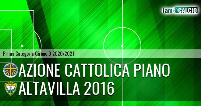 Azione Cattolica Piano - Altavilla 2016