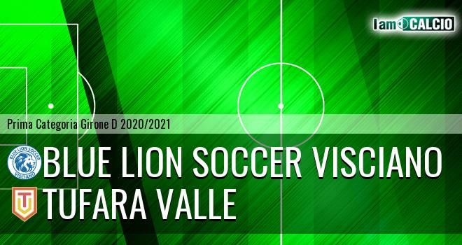 Blue Lion Soccer Visciano - Tufara Valle