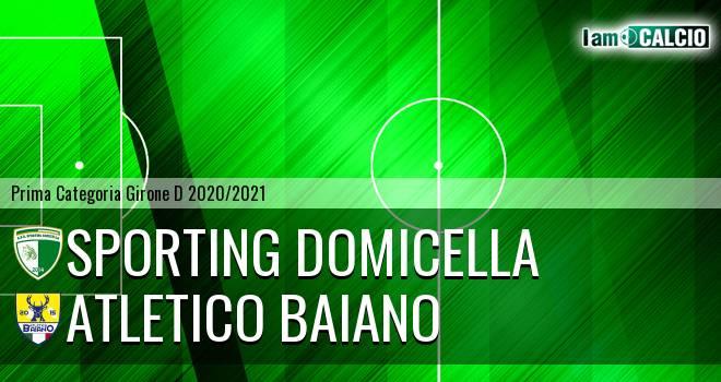 Sporting Domicella - Atletico Baiano