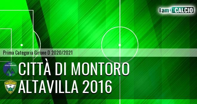 Città di Montoro - Altavilla 2016