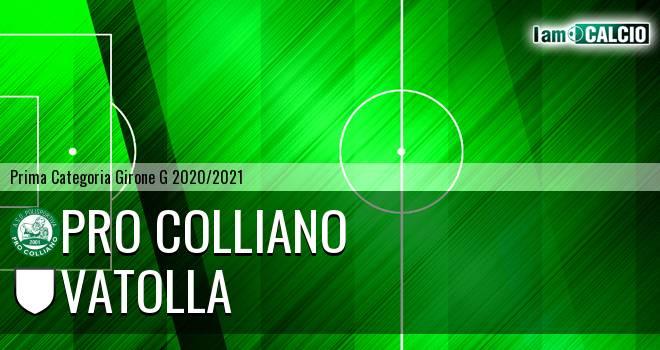 Pro Colliano - Real Vatolla