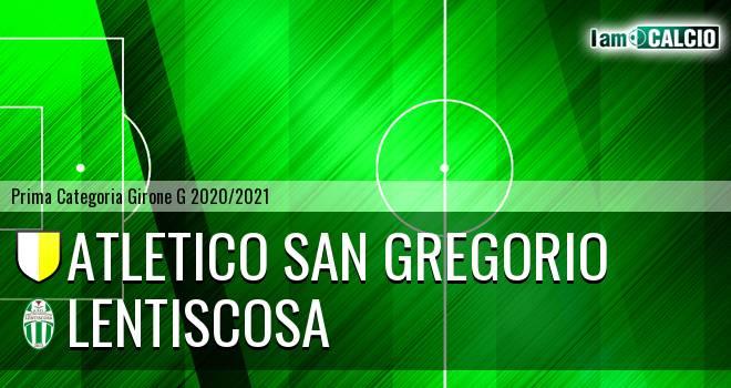 Atletico San Gregorio - Lentiscosa