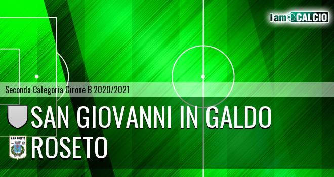 San Giovanni in Galdo - Roseto