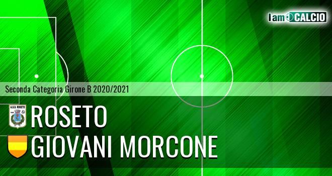 Roseto - Giovani Morcone