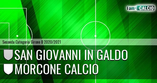 San Giovanni in Galdo - Morcone Calcio