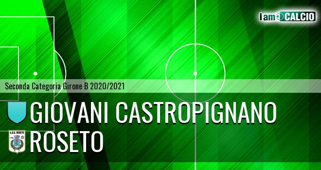 Giovani Castropignano - Roseto