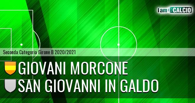Giovani Morcone - San Giovanni in Galdo