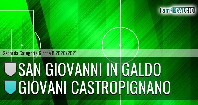 San Giovanni in Galdo - Giovani Castropignano