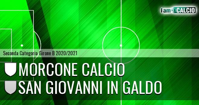 Morcone Calcio - San Giovanni in Galdo