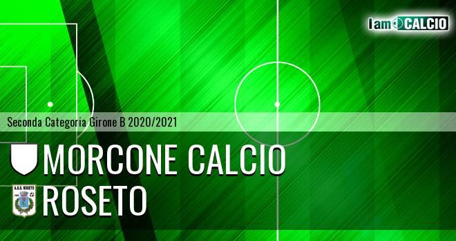 Morcone Calcio - Roseto