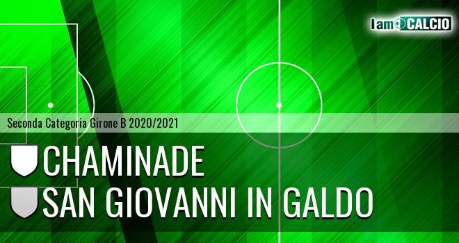 Chaminade - San Giovanni in Galdo