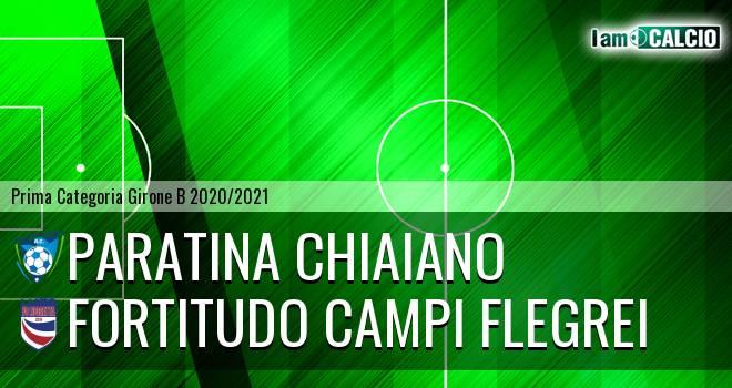Paratina Chiaiano - Fortitudo Campi Flegrei