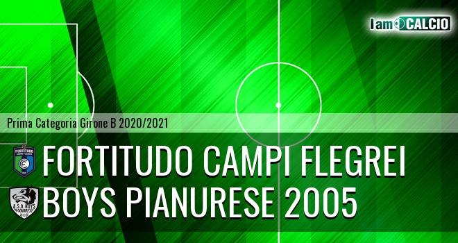 Fortitudo Campi Flegrei - Boys Pianurese 2005