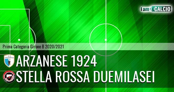 Arzanese 1924 - Stella Rossa Duemilasei