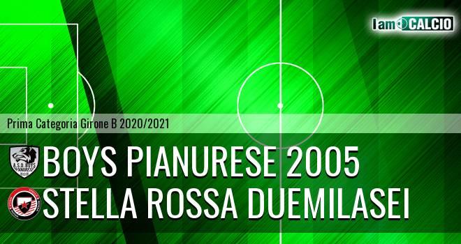Boys Pianurese 2005 - Stella Rossa Duemilasei