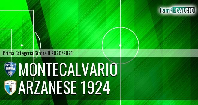 Montecalvario - Arzanese 1924