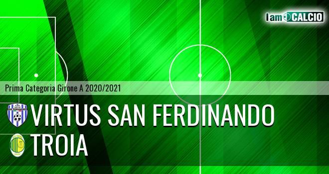 Virtus San Ferdinando - Troia