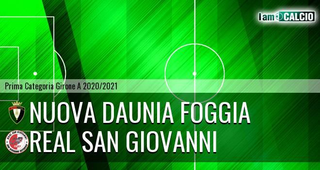 Nuova Daunia Foggia - Real San Giovanni