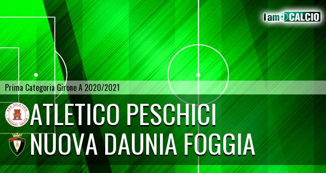 Atletico Peschici - Nuova Daunia Foggia