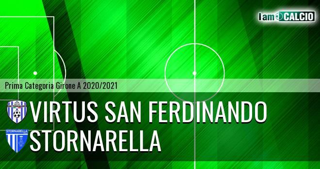 Virtus San Ferdinando - Stornarella
