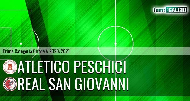 Atletico Peschici - Real San Giovanni