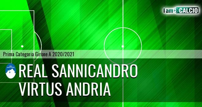 Real Sannicandro - Virtus Andria
