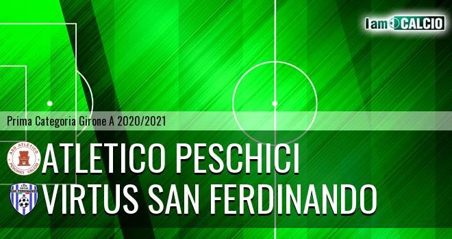Atletico Peschici - Virtus San Ferdinando