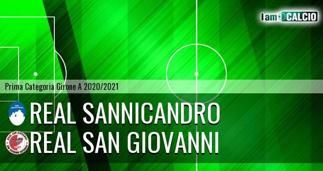 Real Sannicandro - Real San Giovanni