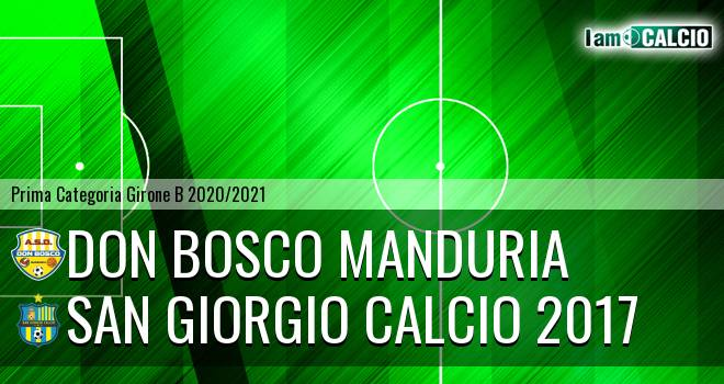 Don Bosco Manduria - San Giorgio Calcio 2017