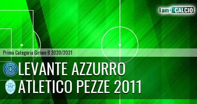 Levante Azzurro - Atletico Pezze 2011