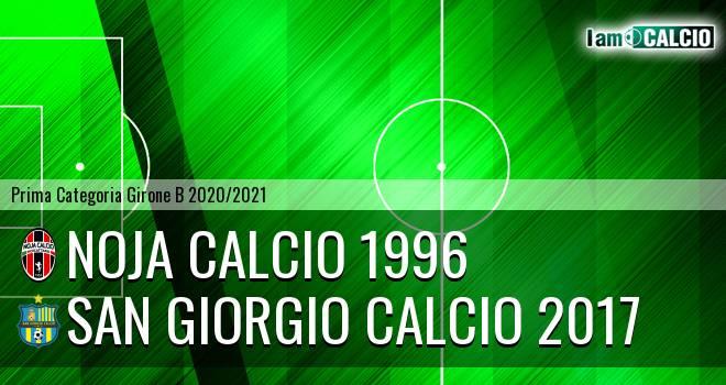 Noja Calcio 1996 - San Giorgio Calcio 2017