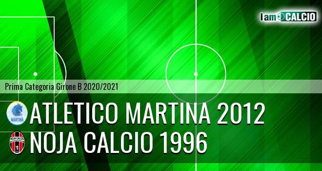 Atletico Martina 2012 - Noja Calcio 1996