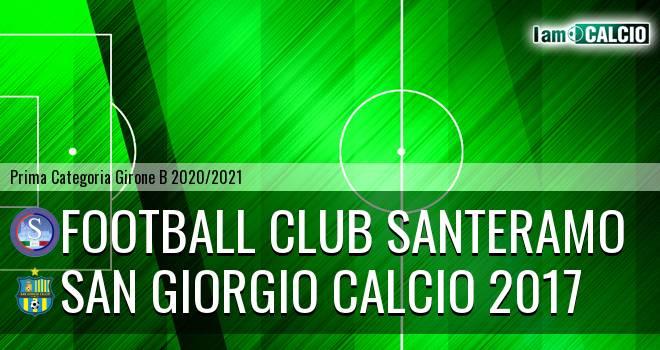 Football Club Santeramo - San Giorgio Calcio 2017
