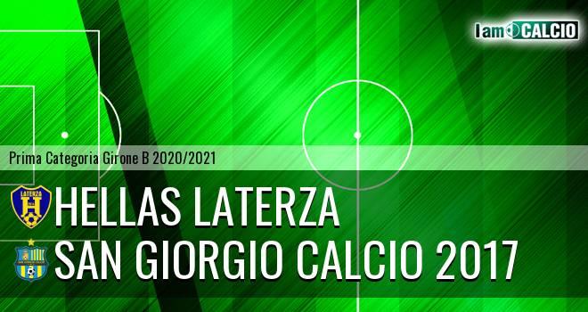 Hellas Laterza - San Giorgio Calcio 2017