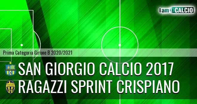 San Giorgio Calcio 2017 - Ragazzi Sprint Crispiano