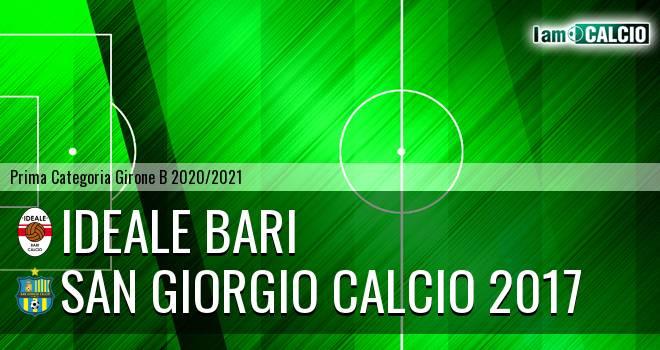 Ideale Bari - San Giorgio Calcio 2017