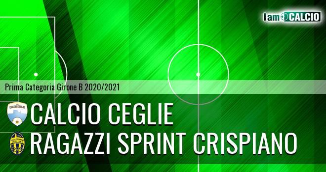 Calcio Ceglie - Ragazzi Sprint Crispiano