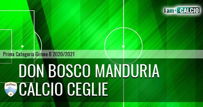 Don Bosco Manduria - Calcio Ceglie