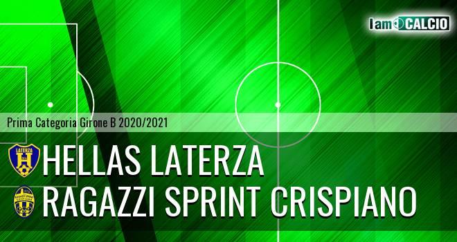 Hellas Laterza - Ragazzi Sprint Crispiano