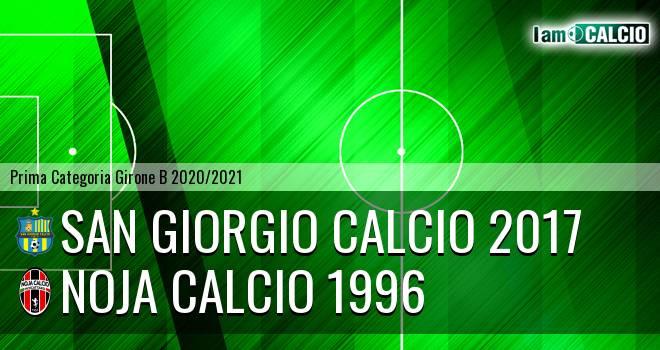 San Giorgio Calcio 2017 - Noja Calcio 1996