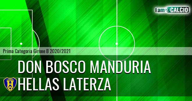 Don Bosco Manduria - Hellas Laterza
