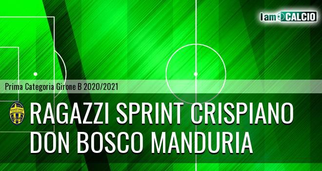 Ragazzi Sprint Crispiano - Don Bosco Manduria