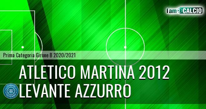 Atletico Martina 2012 - Levante Azzurro