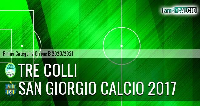 Tre Colli - San Giorgio Calcio 2017